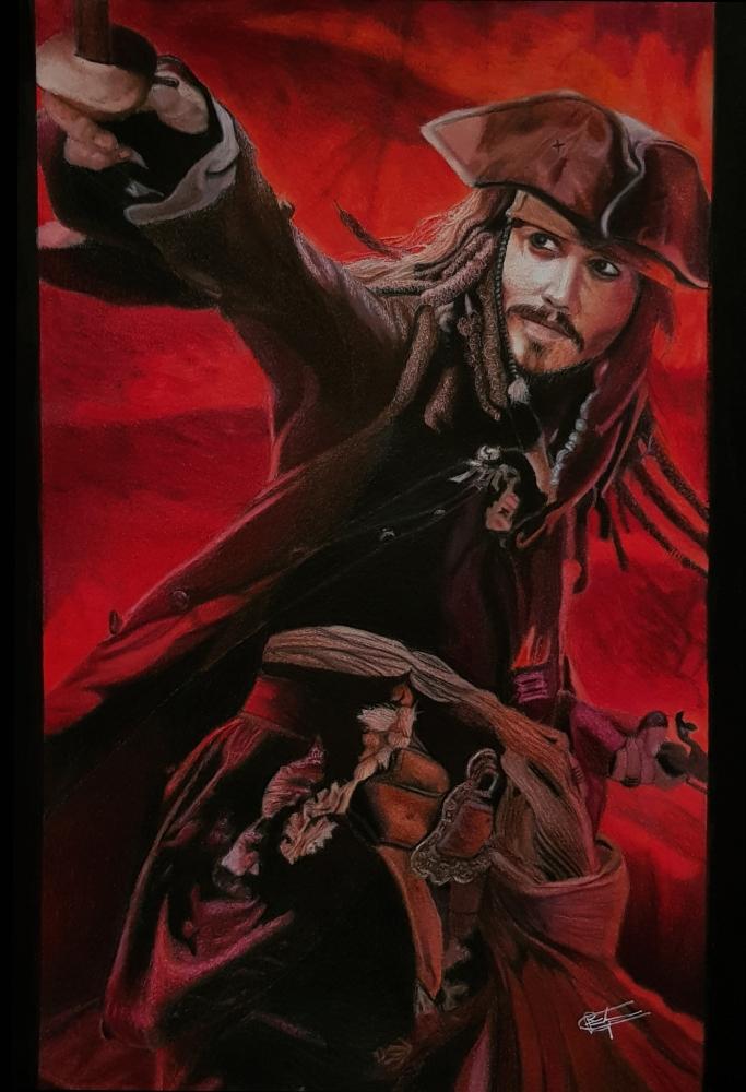 Johnny Depp by Kaiser